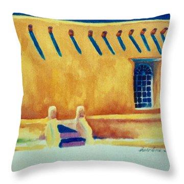 Taos Noon Throw Pillow