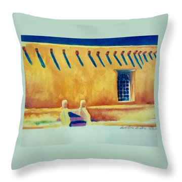 Taos Noon Throw Pillow