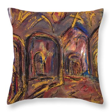 Taos's Spirit Throw Pillow