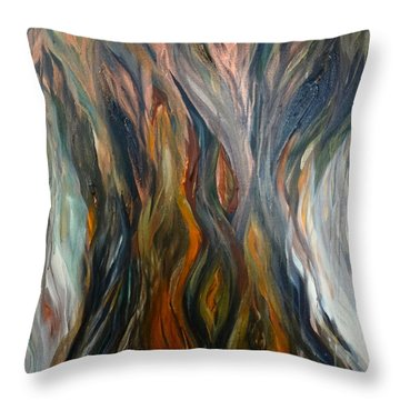 Taotaomo'na Tree Throw Pillow