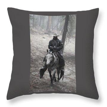 Tapadero Cowboy Throw Pillow