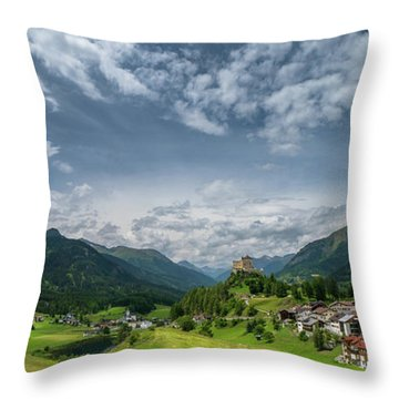 Tarasp Throw Pillow