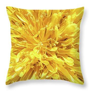 Throw Pillow featuring the photograph Taraxacum by Traven Milovich