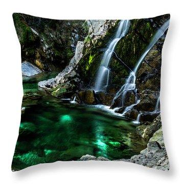 Tarcento's Cascade 5 Throw Pillow