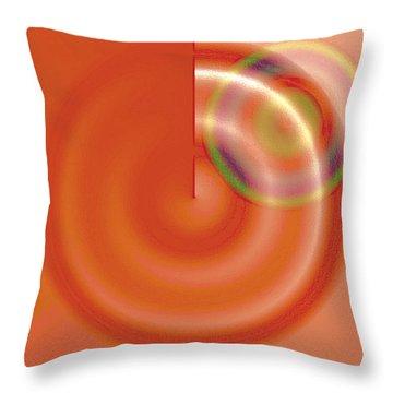Targe Citron Throw Pillow