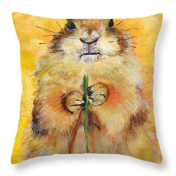 Target Throw Pillow by Pat Saunders-White
