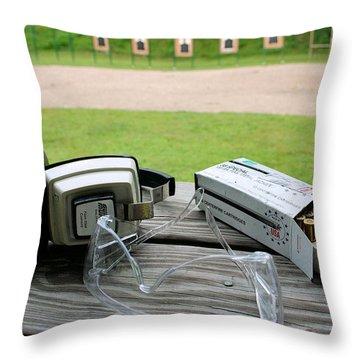 Target Practice Throw Pillow by Kristin Elmquist