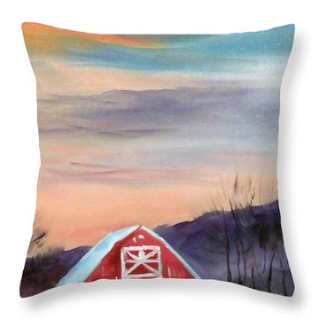 Target Range Barn Throw Pillow
