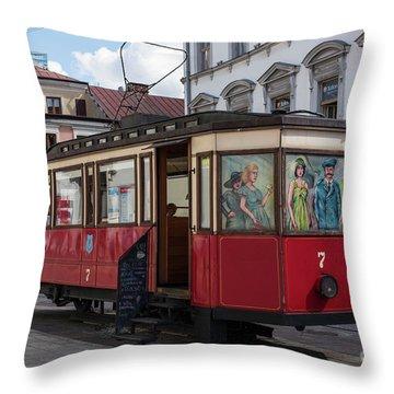 Tarnow, Poland Throw Pillow