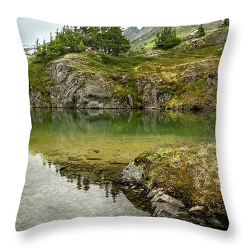 Tarns Of Nagoon 172 Throw Pillow