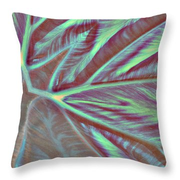 Taro Valley 447 Throw Pillow