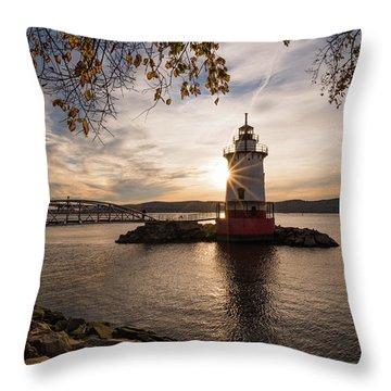 Tarrytown Lighthouse Throw Pillow