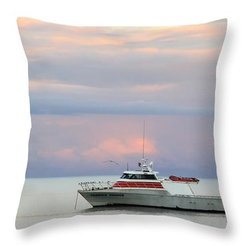 Throw Pillow featuring the photograph Tasha's Choice by Stephen Mitchell