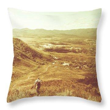 Tasmania Wonder Throw Pillow
