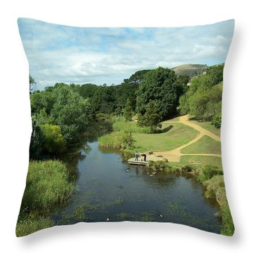 Tasmanian Landscape Throw Pillow