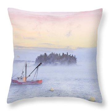 Taste Of Dawn Throw Pillow