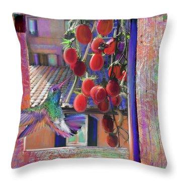 Taste Of Italy  Throw Pillow