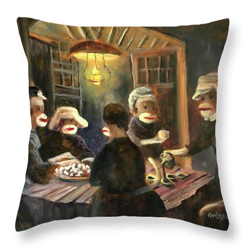 Tater Eaters Throw Pillow