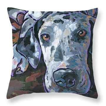 Taylor Throw Pillow by Nadi Spencer