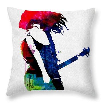 Taylor Watercolor Throw Pillow