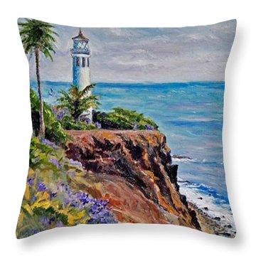 #tbt #artist#impressionism Throw Pillow by Jennifer Beaudet