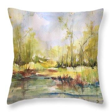 Tchefuncte River Series Throw Pillow