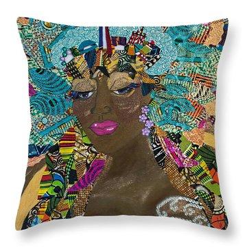 Tdot Caribana Throw Pillow