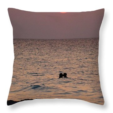 Te Amo Throw Pillow by Zinvolle Art