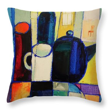 Tea Throw Pillow