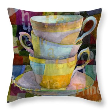 Tea Time Throw Pillows