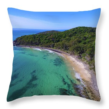 Throw Pillow featuring the photograph Tea Tree Bay At Noosa by Keiran Lusk