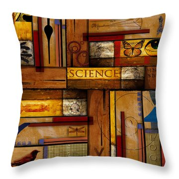 Teacher - Science Throw Pillow