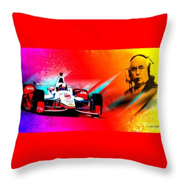 Team Penske Throw Pillow