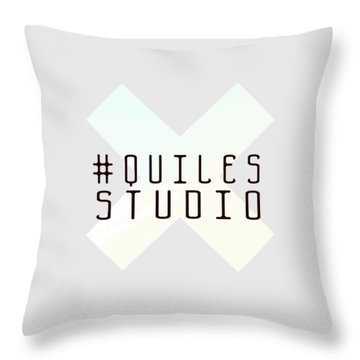 Team Quiles Throw Pillow