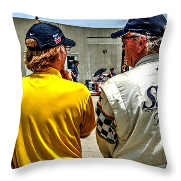 Team Stutz Throw Pillow