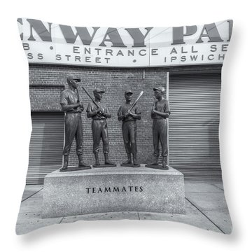 Teammates II Throw Pillow