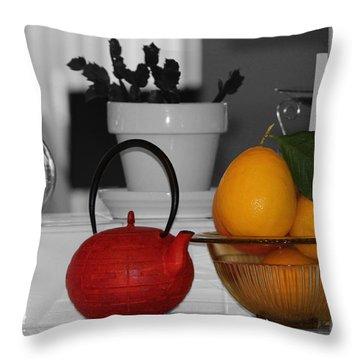 Teapot Throw Pillow