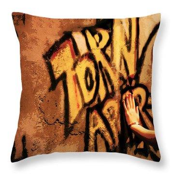 Tear This Wall Down Throw Pillow