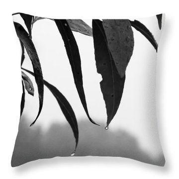 Tears Throw Pillow