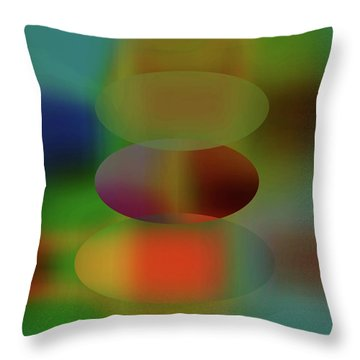 Tears Of A Clown  Throw Pillow