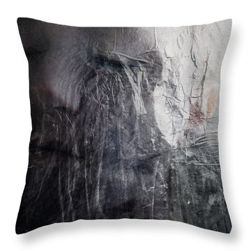 Throw Pillow featuring the digital art Tears Of Ice by Gun Legler