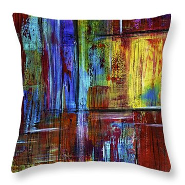 Tears Of Joy Throw Pillow