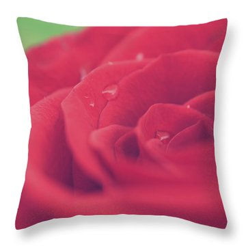 Tears Of Love Throw Pillow