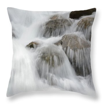 Tears Of The Mountain Throw Pillow