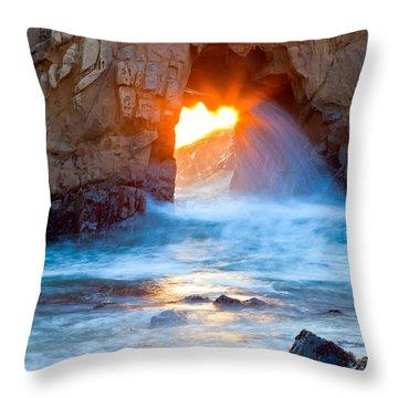Tears Of The Sun Throw Pillow