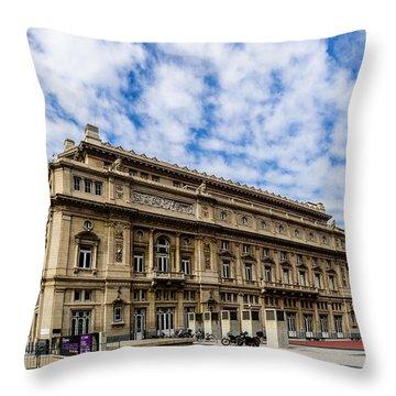 Teatro Colon Throw Pillow