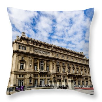 Teatro Colon Throw Pillow