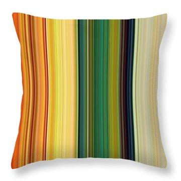 Technicolor Dreams Throw Pillow by Michelle Calkins