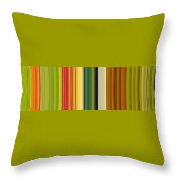 Technicolor Dreams Throw Pillow