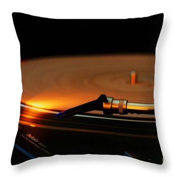 Technics  Throw Pillow
